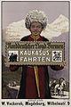 1911 circa Ivo Puhonny Plakat Norddeutscher Lloyd, Kaukasus Fahrten, Kunstdruckerei Künstlerbund Karlsruhe.jpg