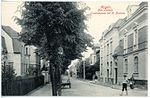 19288-Mügeln-1915-Lindenstraße mit Königlichem Postamt-Brück & Sohn Kunstverlag.jpg