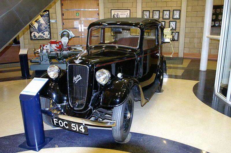 1938 Austin Seven Ruby Motor Centre, Gaydon.jpg