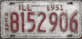 1951 Illinois license plate.png