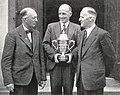 1953 Messrs W H Gillespie MP L W McCaskill and the Hon E. B. Corbett.jpg