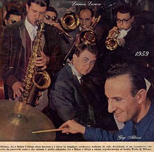 "1959 in jazz - The ""Milan College Jazz Society"""