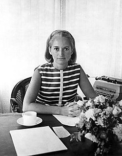 1969 Wells Rich Greene File Photo of Mary Wells Lawrence at her desk.jpg