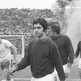 Stefano Pellegrini (footballer, born 1953) - Pellegrini with Roma in 1971