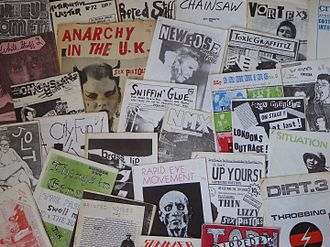 Punk zine - British punk fanzines from the 1970s.