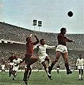 1971–72 Serie A - Milan AC v Cagliari Calcio - Enrico Albertosi and Alberto Bigon.jpg