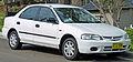 1997 Ford Laser (KJ II (KL)) LXi sedan (2010-09-19) 01.jpg