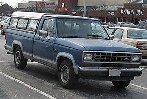 Ford Ranger - Image: 1st Ford Ranger