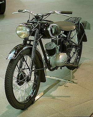 DKW RT 125 - The DKW RT 125 of 1950