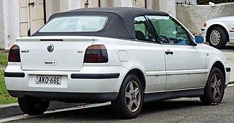 Volkswagen Golf Mk4 - MK4 Golf Cabriolet