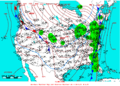 2005-01-14 Surface Weather Map NOAA.png