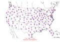 2006-01-17 Max-min Temperature Map NOAA.png