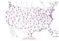2006-02-12 Max-min Temperature Map NOAA.png