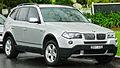 2006-2008 BMW X3 (E83) 2.5si wagon (2011-10-25) 01.jpg