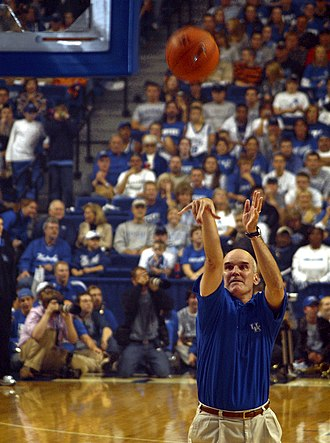 Midnight Madness (basketball) - Kyle Macy was among the celebrity participants at the 2006 Kentucky Wildcats men's basketball opening night celebration