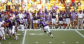 2007 Hawaii Bowl - Boise State University vs East Carolina University - Dwayne Harris.jpg