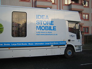 Bookmobile - Mobile Idea Store, London, 2008