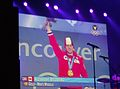 2010 VANCOUVER WINTER OLYMPICS THE CHAMPIONS OF THE GAMES ALEXANDRE BILODEAU GOLD MEDAL CEREMONY 1.jpg