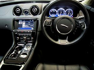 Jaguar XJ (X351) - Interior