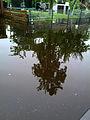 2013-05-28 Schwalbenberg, Celle, Hochwasser in der Straße 2013, 07.18 Uhr.jpg