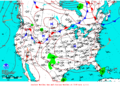 2013-07-17 Surface Weather Map NOAA.png