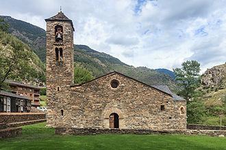 Església de Sant Martí de la Cortinada - Església de Sant Martí de la Cortinada