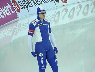 Mänttä - Speed skater Pekka Koskela