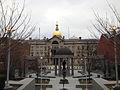 2014-12-20 15 12 43 New Jersey World War II Memorial in front of the New Jersey State House in Trenton, New Jersey.JPG
