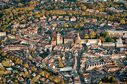 Aerial view of Coesfeld