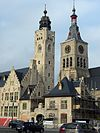 20141111 Diksmuide; Town Hall and Sint-Niklaaskerk 2.jpg