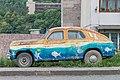 2014 Prowincja Tawusz, Dilidżan, Stare auto przy drodze M-8.jpg