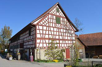 Neunforn - Half-timbered building in Neunforn