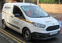 2015 Ford Transit Courier Base TDCi 1.5 Front (Headway Trafic Maintenance).jpg