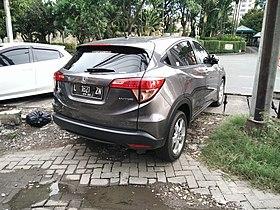 2015 Honda HR-V rear, West Surabaya.jpg