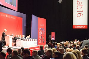 Labour Party (UK) Conference - The 2016 Labour Party Conference at ACC Liverpool