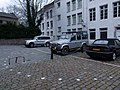 2016 Maastricht, Houtmaas, markering castellumtoren 2.JPG