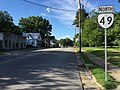 2017-06-26 18 04 00 View north along Virginia State Route 49 (Nottoway Boulevard) at 9th Street in Victoria, Lunenburg County, Virginia.jpg