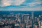 2017-08-06 Toronto, Skyline from the CN Tower (02) (freddy2001).jpg