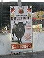 2017-10-24 Bullfight poster, Albufeira.JPG