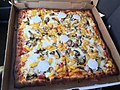 2017-11-13 13 51 53 Sicilian pizza with mushrooms and pineapple from Buon Appetito's NY Pizza in Dulles, Loudoun County, Virginia.jpg