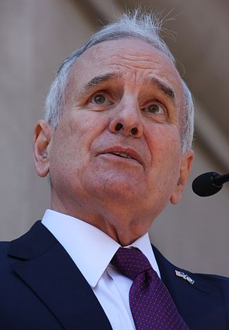 Mark Dayton - Dayton speaking in 2017