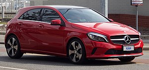 2017 Mercedes-Benz A 200 (W 176) hatchback (2018-08-31) 01.jpg