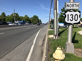 Delran Township, New Jersey - US 130 in Delran