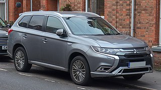 Mitsubishi Outlander Motor vehicle
