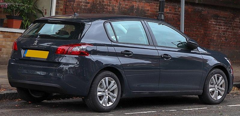 File:2018 Peugeot 308 Active 1.2 Rear.jpg - Wikimedia Commons