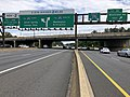 2019-06-18 15 19 24 View south along the local lanes of Interstate 270 (Washington National Pike) at Exit 4A (Montrose Road EAST) on the edge of North Bethesda and Potomac in Montgomery County, Maryland.jpg