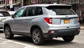 2019 Honda Passport EX-L 3.5L, rear 8.27.19.jpg