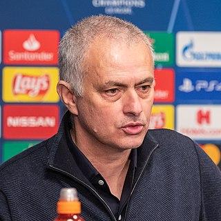 José Mourinho Portuguese association football player and manager