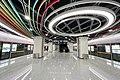 20201227 Platform for Line 3 at Dongshilipu Station 03.jpg