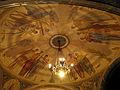 218 Basílica de Montserrat, pintures de Josep Obiols al sostre de l'avantsala del cambril.JPG